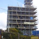 Mine stack and engine house repairs at Beacon, Troon